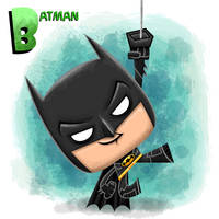 Batman by xanderthurteen