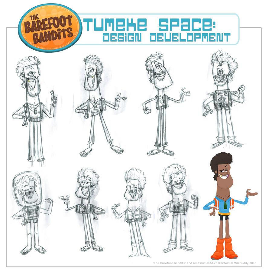 Tumeke Space Character Design by xanderthurteen