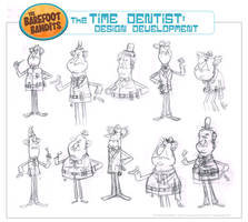 'The Time Dentist' Character Design