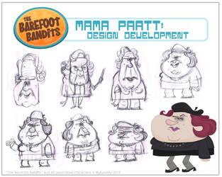 'Mama Pratt' Character Design