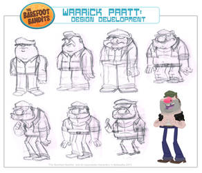 'Warrick Pratt' Character Design by xanderthurteen