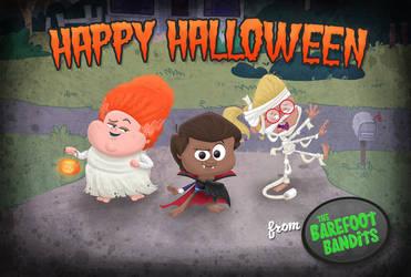Barefoot Bandits Halloween