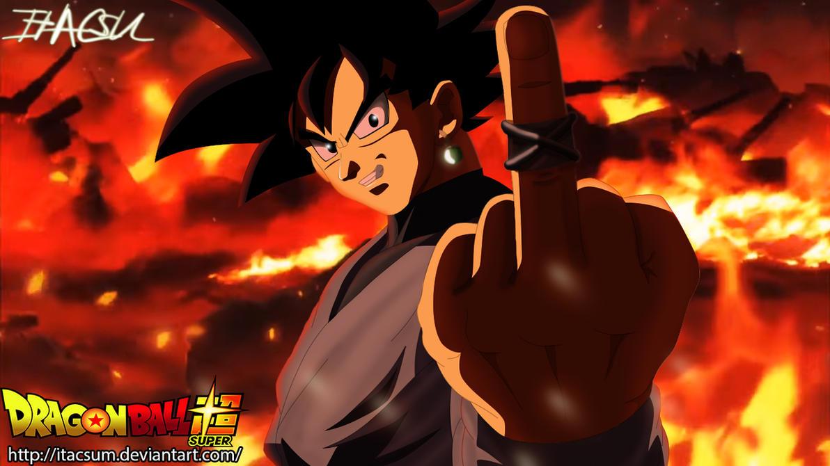 Black Goku [Zamasu] by ItacsuM