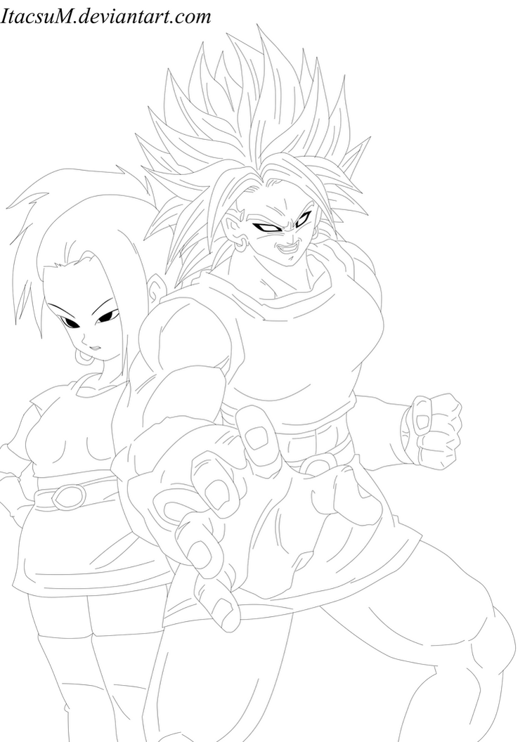 Super Saiyan Woman [Broly version] by ItacsuM