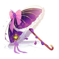 Dahlia umbrella by Yunamishi