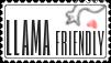 Stamp - Llama Friendly by Rdzeniuch