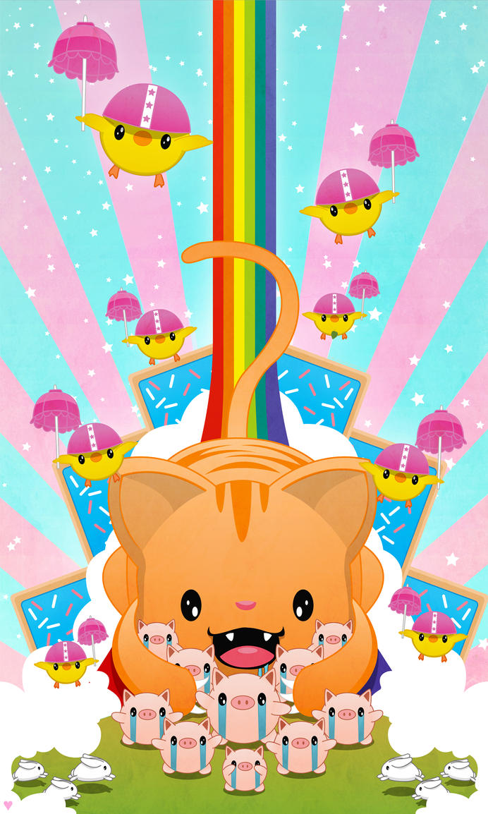 Poptarts, Pigs, Cats, Bunnys, Birds and Rainbows by AirDuster