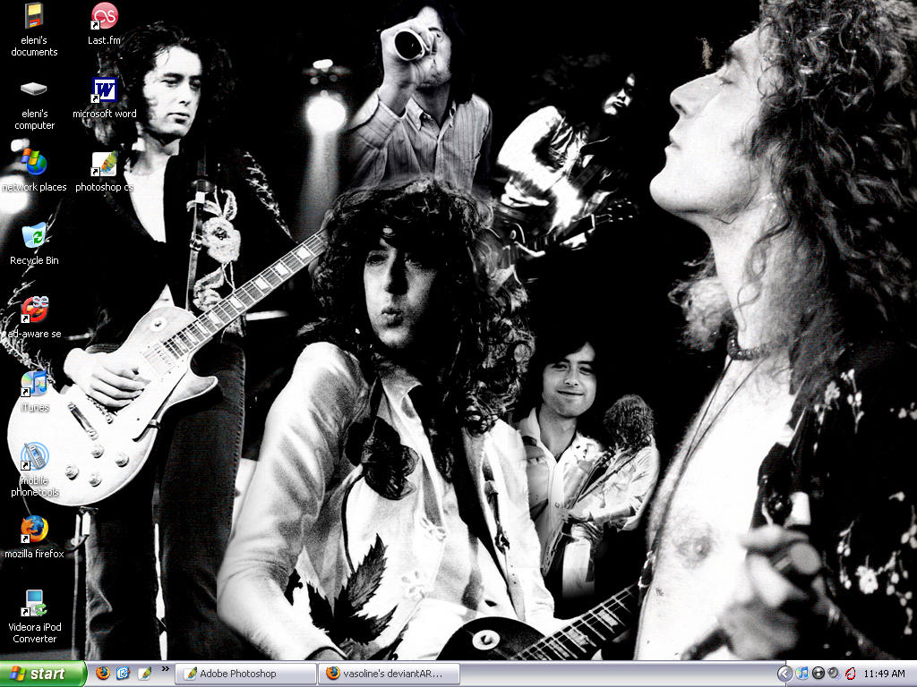 Jimmy Page And Robert Plant Wallpaper