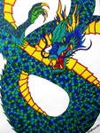 Sharpie Dragon