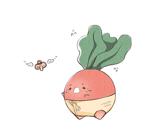 radish by c-louds