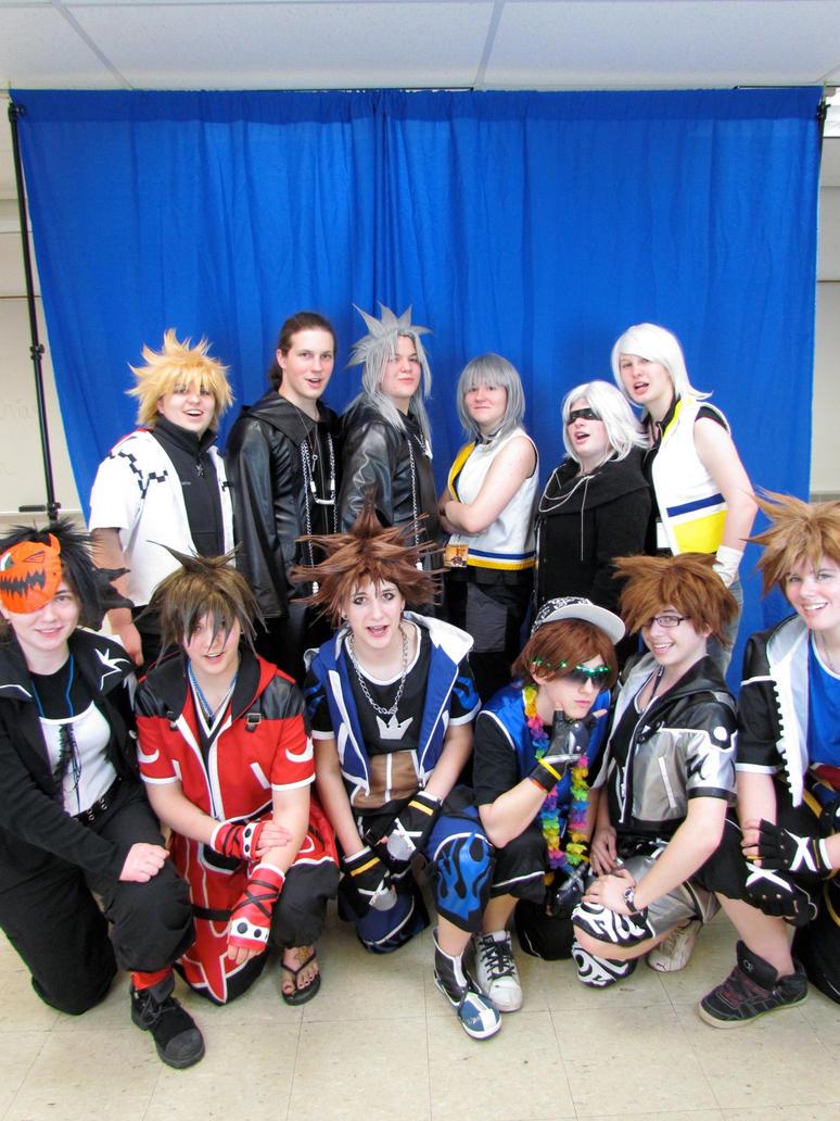 Kingdom Hearts Gang by Maddmatthias247