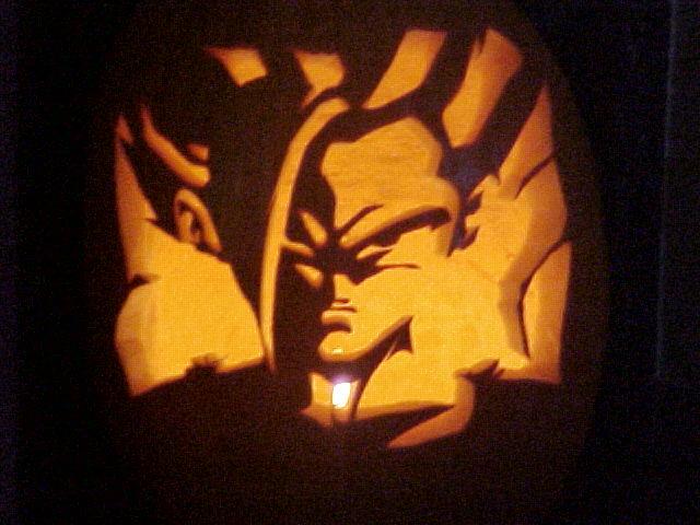 Vegeta Pumpkin Carving: Gohan Pumpkin Carving By Rider4Z On DeviantArt