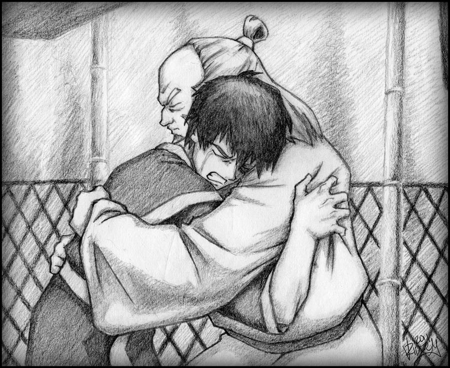 Zuko and Uncle Iroh by Rider4Z