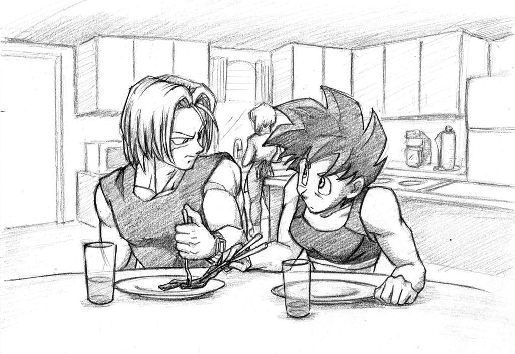 Breakfast / sketch by Rider4Z