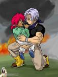 Trunks Saves Mei