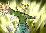 Dragonball Super - Trunks Final Flash by Rider4Z
