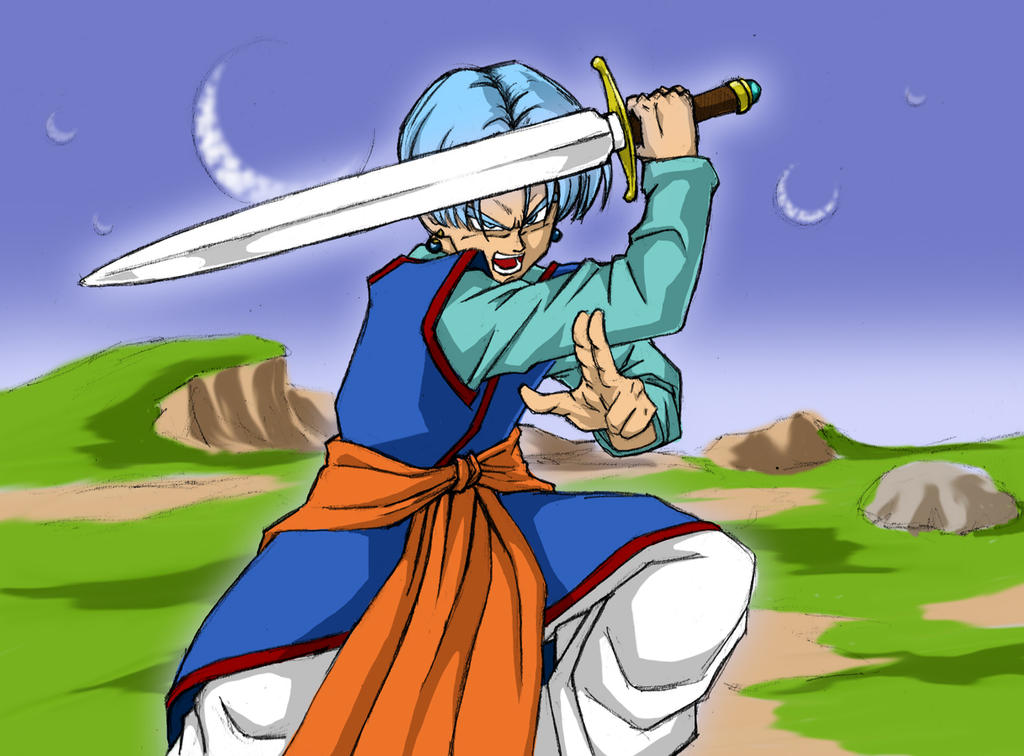 Dragonball Super - Trunks with Z Sword by Rider4Z on ...