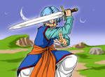 Dragonball Super - Trunks with Z Sword