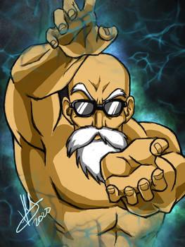Master Roshi Kamehameha