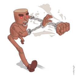 Corrupted Pinocchio