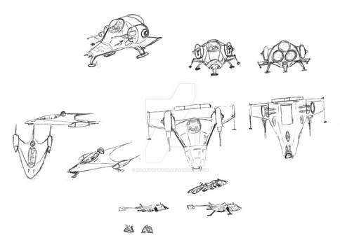 Star Wars - Space Ships