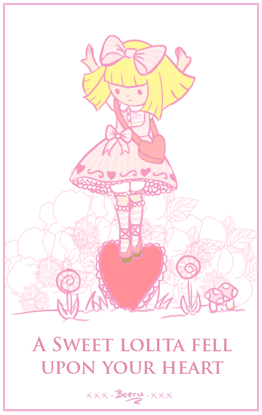 Valentine lolita by Club-Lolita
