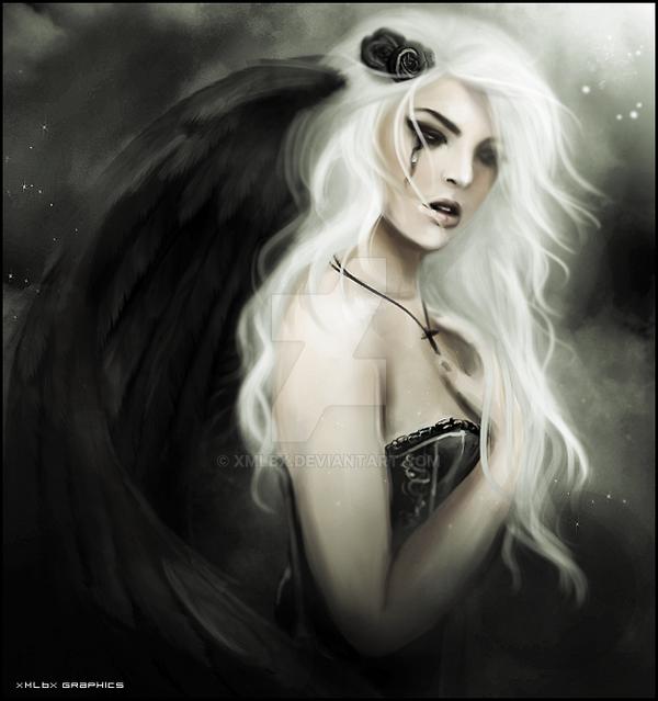- fallen angel - Haunting by xMLBx
