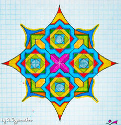 square mandala by rizyumnikov