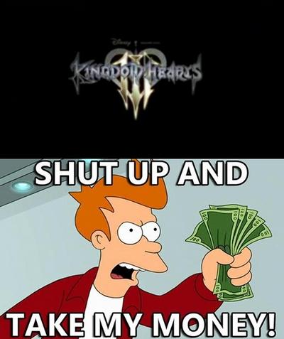 My reaction to Kingdom Hearts 3 by zeno247naruto12