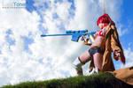 Yoko Bounty Hunter from Gurren Lagann