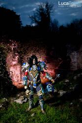 Blood Elf Pally - World of Warcraft by LucaTonet