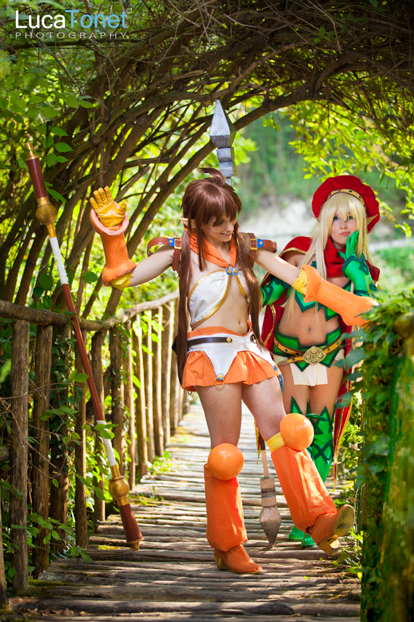 Alleyne and Nowa from Queen's Blade
