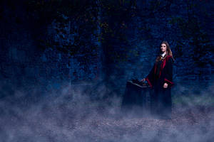 Ludovica as Hermione Granger from Harry Potter
