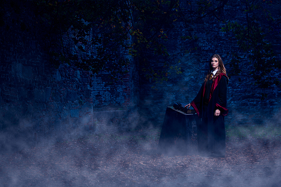 Ludovica as Hermione Granger from Harry Potter by LucaTonet