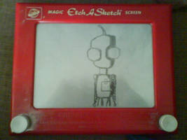 Etch a sketch GIR 2 by Monkeyboy93