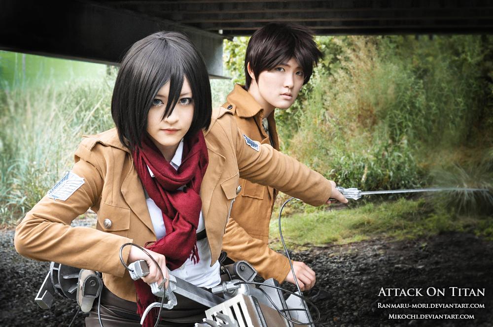 Attack on Titan: Defender by Mikochi