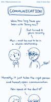 Life Happens- Communication by Mikochi