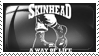 Skinhead Stamp by crowhitewolf