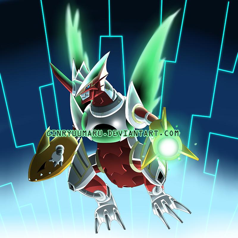 Astro Raigomon final design by ginryuumaru