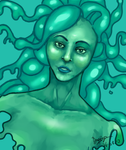 Monster Girl: Slime by Dragriyu