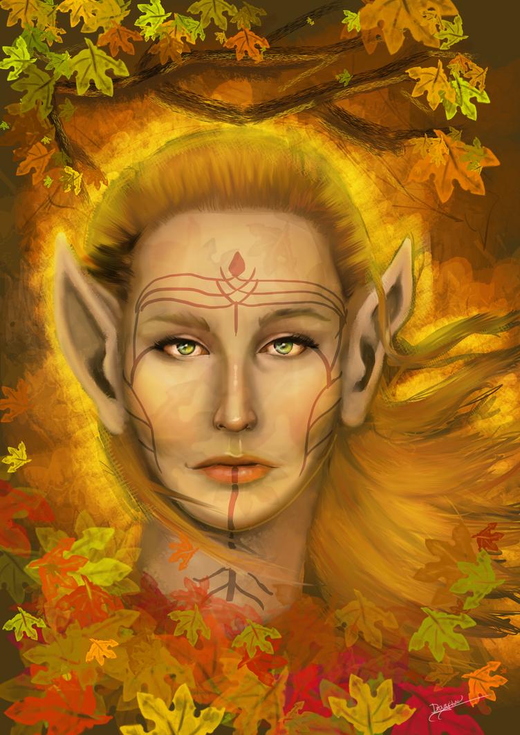 Autumn Dalish by Dragriyu