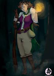 [G] Kaiarys the half-elf sorcerer