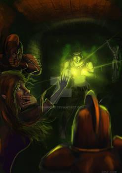 Warlock's Demise   DnD Illustration