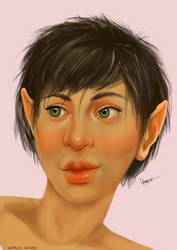 Halfling Bard   DnD Character Portrait