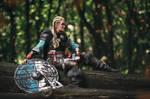 Assassin's Creed Valhalla Female Eivor Cosplay