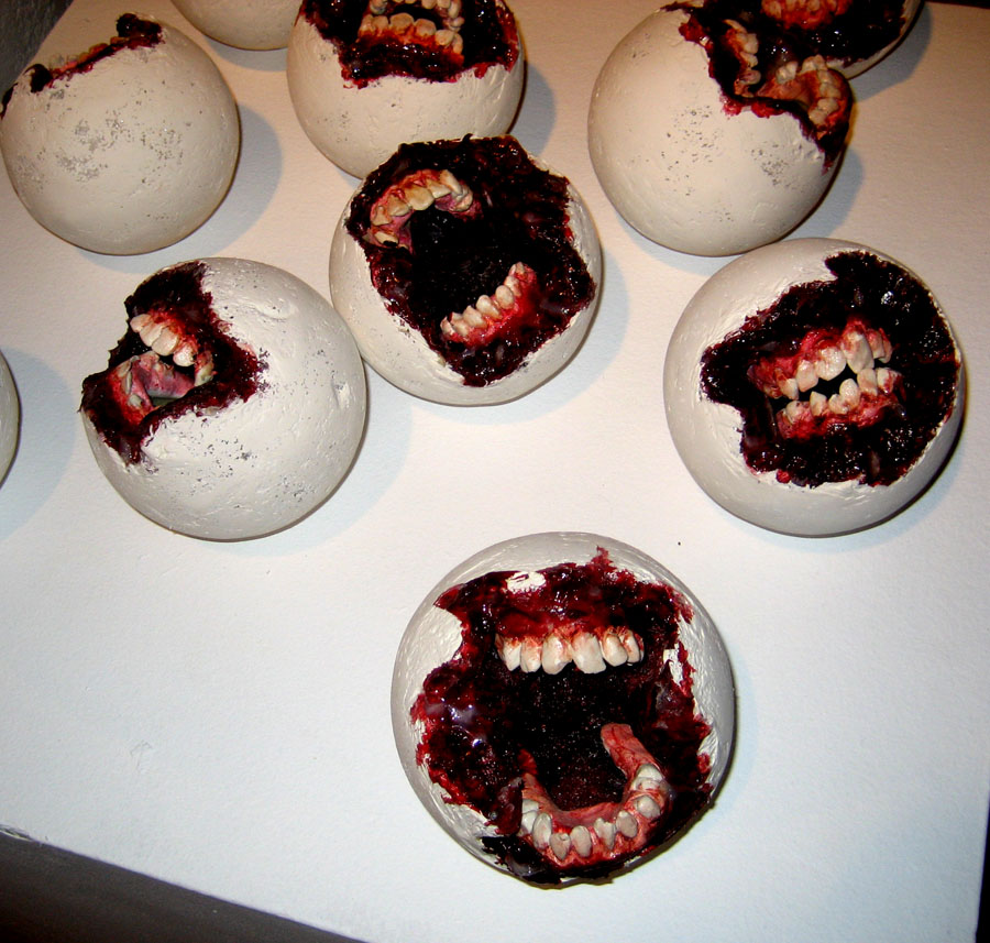 Zombie Balls by KillerNapkins