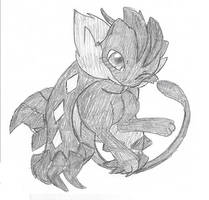 Yveltal Outfit-Dark Mew by lossetta932