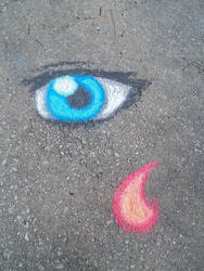 Chalk-Eyeball and Flame by lossetta932