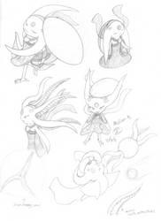 Molien Sketches