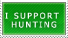 I Support Hunting by DragonLordKris